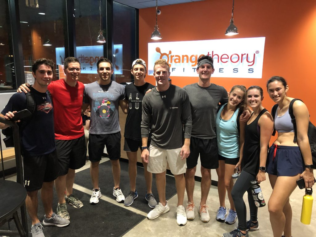 Friends at Orangetheory Fitness